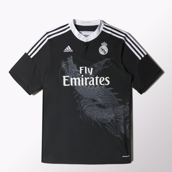 078d931ad7adb Camiseta de Gala Real Madrid 2014 2015 CEMENT GREY-SMC   GUN METAL F49264