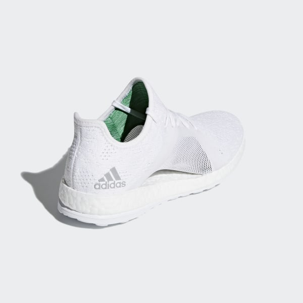 4997a0d49 Pureboost X Element Shoes Ftwr White Grey Two Green BB6084