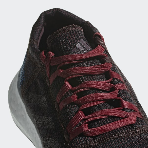 f0b1fd827cf Pureboost Go Shoes Night Red   Noble Maroon   Bright Blue AH2326