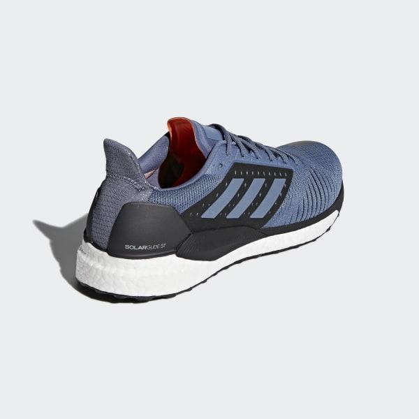 d22609f277a540 Solar Glide ST Shoes Raw Steel   Raw Steel   Hi-Res Aqua CM8048