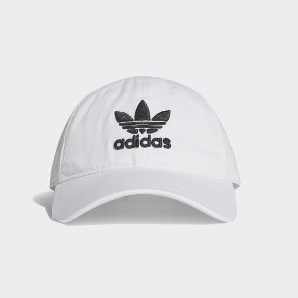adidas Trefoil Hat - White  42de4d7585dd