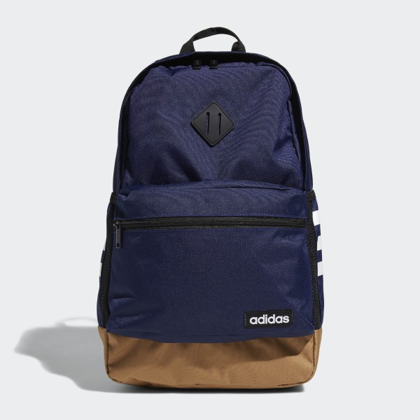 adidas Classic 3-Stripes 2 Backpack - Blue   adidas Canada b0d6b82da4