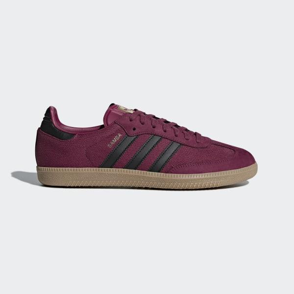 Samba OG Shoes Mystery Ruby   Core Black   Gum CQ2152 f370f6a5e
