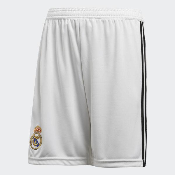 6f2e493126dac Pantalón corto primera equipación Real Madrid Core White   Black CG0549
