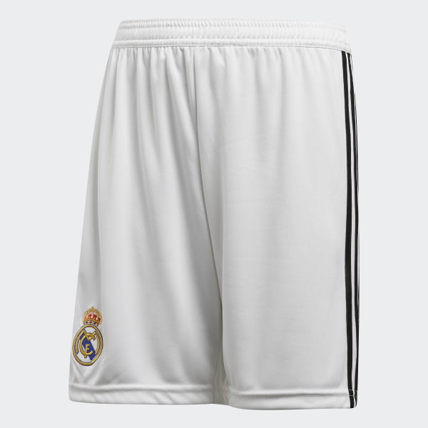 Shorts de Local Real Madrid Réplica CORE WHITE BLACK CG0549 e2322743b62db