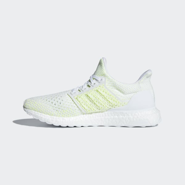 6616e11147ae8 Ultraboost Clima Shoes Cloud White   Cloud White   Solar Yellow AQ0481