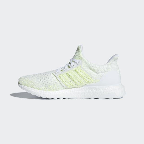 bccf9469b5f48 Ultraboost Clima Shoes Cloud White   Cloud White   Solar Yellow AQ0481