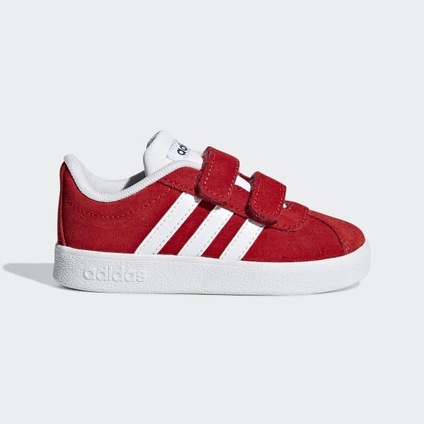 eede664e4e Sapatos VL Court 2.0 Active Red   Ftwr White   Grey Six F36398