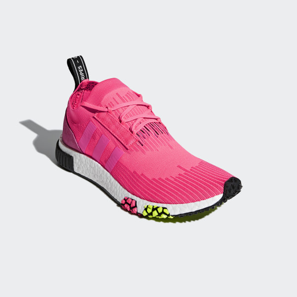 35803b0518e3b NMD Racer Primeknit Shoes Solar Pink   Solar Pink   Core Black CQ2442