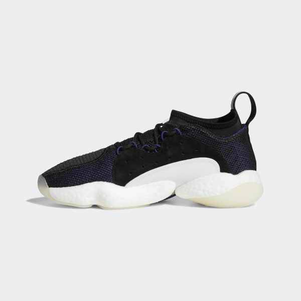 2b5ab1cfc94 Crazy BYW II Shoes Core Black   Real Purple   Cloud White B37552