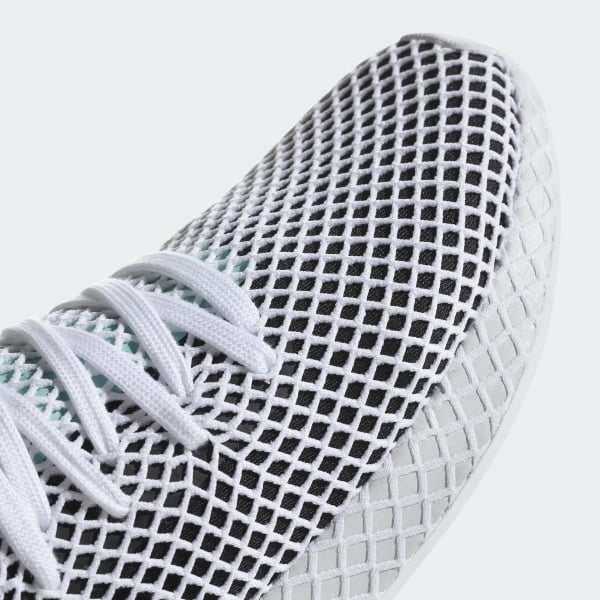 reputable site da563 8ed72 Deerupt Runner Shoes Core Black  Easy Green  Cloud White B28076