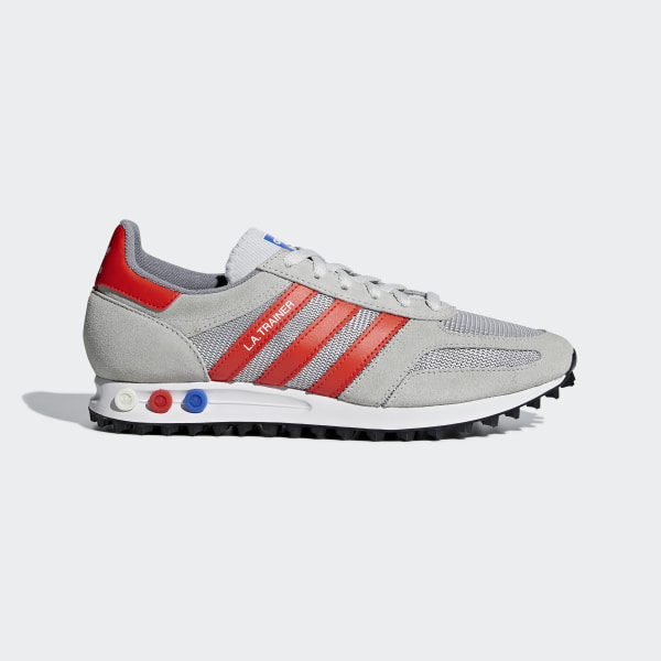 Sapatos LA Trainer Grey Two   Bold Orange   Grey One B37828 65e06857d6685