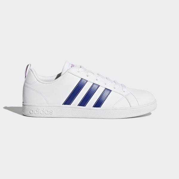 new arrival 08c95 297a2 VS Advantage Shoes Footwear WhiteMystery InkShock Purple BB9620