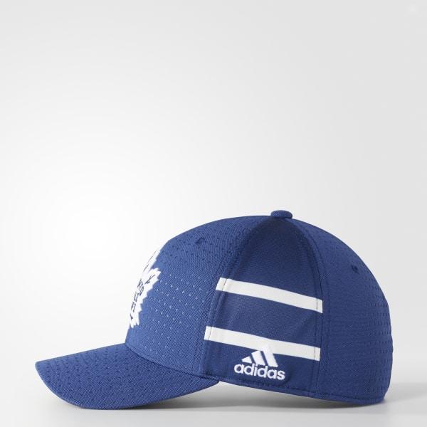 b4808cb9524 adidas Maple Leafs Structured Flex Draft Hat - Multicolor