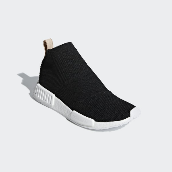 3fb2adb3f NMD CS1 Primeknit Shoes Core Black   Core Blue   Ftwr White AQ0948
