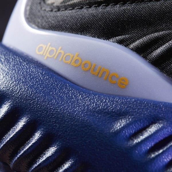 ce5abe16b8715 Alphabounce Shoes Core Black   Solar Gold   Shock Purple B42351