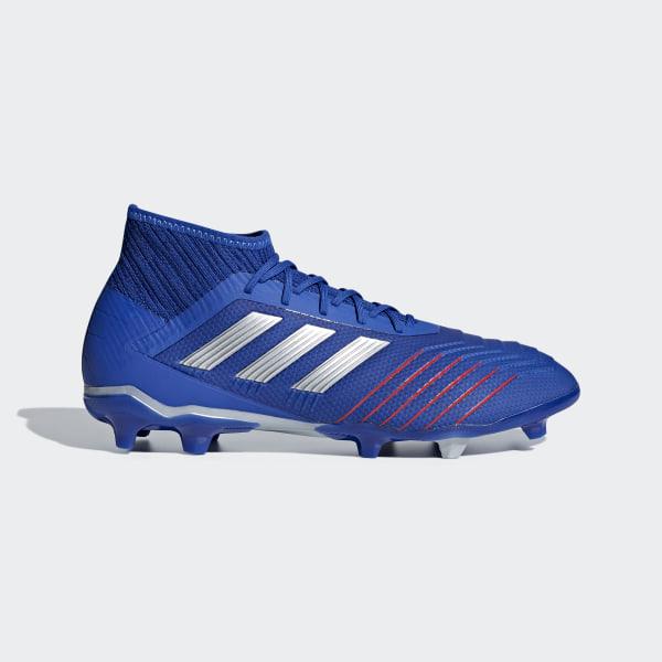 superior quality 70bf9 bc51d Scarpe da calcio Predator 19.2 Firm Ground Bold Blue   Silver Met.    Football Blue