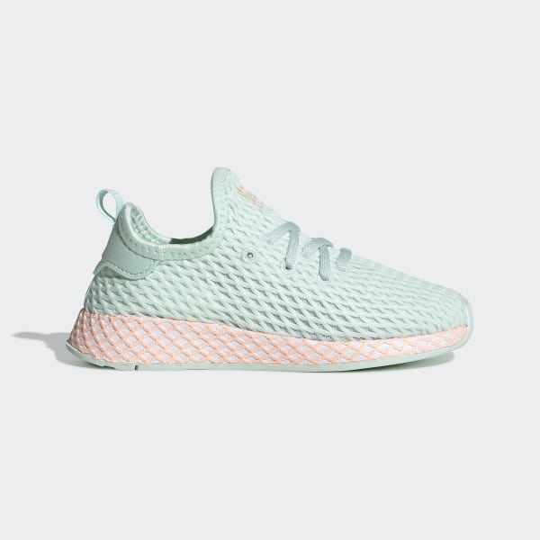 8136606cd309f0 Deerupt Runner Schuh Turquoise   Ftwr White   Clear Orange CG7037