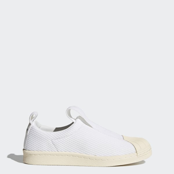 save off 59eed 4765b Superstar BW Slip-on Shoes Footwear White   Footwear White   Off White  BY2949