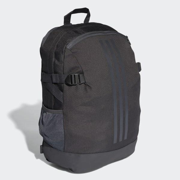 3-Stripes Power Backpack Medium Carbon   Carbon   Night Metallic CG0497 333e4f4313c9d