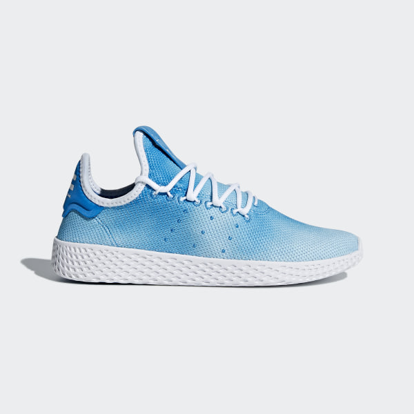 b171ec7b1ea20 Pharrell Williams Tennis Hu Shoes Bright Blue   Cloud White   Cloud White  CQ2300