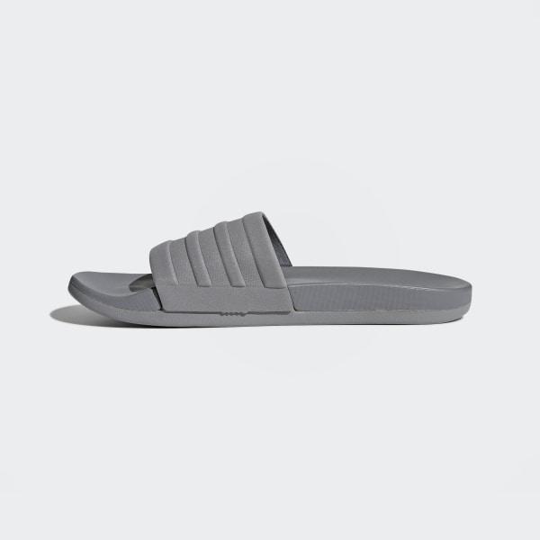 395565059 adilette Cloudfoam Plus Mono Slides Grey Three   Grey Three   Grey Three  S80977
