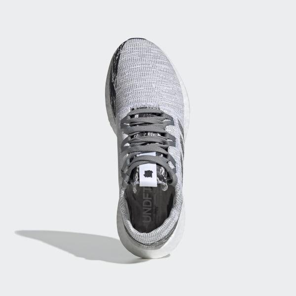 68b46de1945c0e adidas x UNDEFEATED Pureboost GO Shoes Core Black   Core Black   Core Black  BC0474