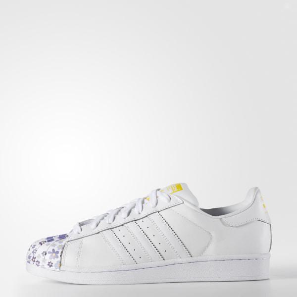 78a177d8fe4cb Zapatos Originals Superstar Pharrell Supershell FTWR WHITE   FTWR WHITE    YELLOW S83367