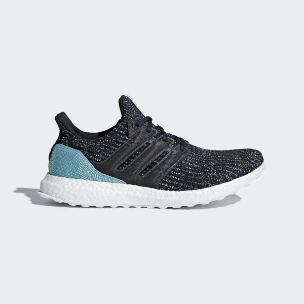 7c4ae21276026 Ultraboost Parley Shoes Carbon   Carbon   Blue Spirit CG3673