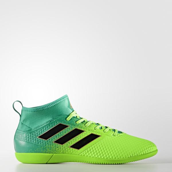 36c6dd71ff24e Chuteira ACE 17.3 Primemesh - Futsal SOLAR GREEN CORE BLACK CORE GREEN  BB1023