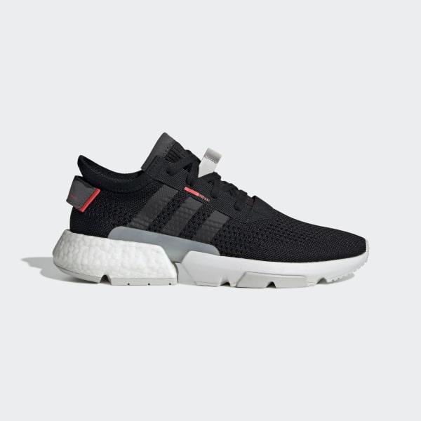 5d26bedae8af POD-S3.1 Shoes Core Black   Core Black   Shock Red BD7877