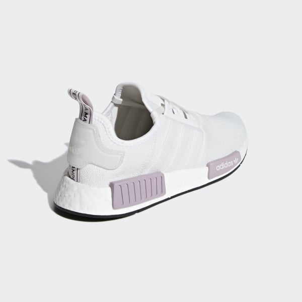 3a017e342 NMD R1 Shoes Crystal White   Crystal White   Orchid Tint BD8024