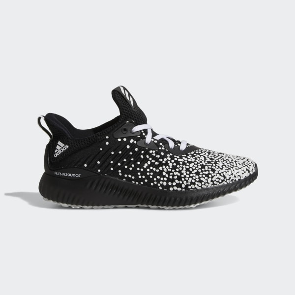 new concept 5f6d3 15c9f Alphabounce Shoes Core Black  Cloud White  Core Black CQ1504