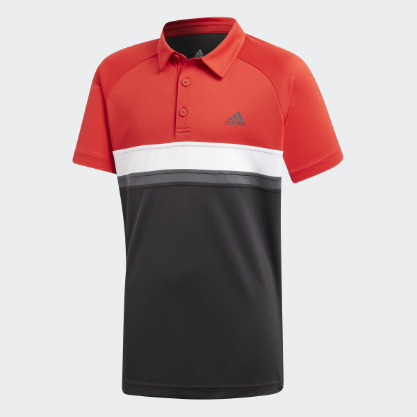92e8fd9935 Camisa Polo Colorblock Club - Preto adidas