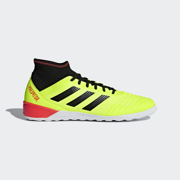 Chuteira Predator Tango 18.3 Futsal SOLAR YELLOW CORE BLACK SOLAR RED DB2126 3b138898fa032