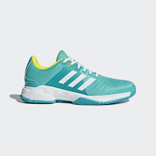 promo code 34781 087e4 Zapatillas Barricade Court 3 HI-RES AQUA F18 FTWR WHITE SHOCK YELLOW F18