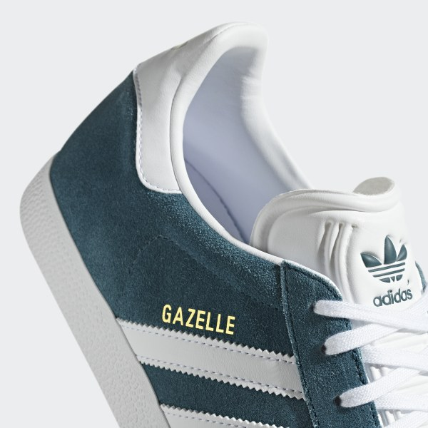 2ad482f16a70 Gazelle Shoes Petrol Night   Ftwr White   Ftwr White B41654