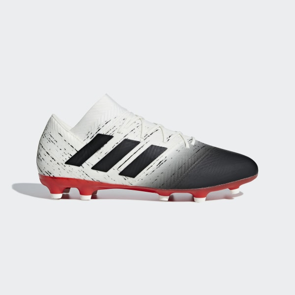 huge selection of 46e7c d74d7 Nemeziz 18.2 Firm Ground Boots Off White  Core Black  Active Red D97980