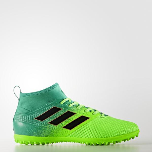 Calzado de Fútbol ACE 17.3 Primemesh pasto sintético SOLAR GREEN CORE  BLACK CORE GREEN 5ccfc51d44114