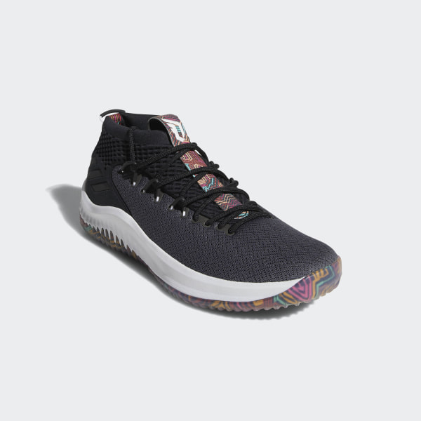 new arrival 8f76d a2796 Dame 4 Shoes Core Black  Cloud White  Grey AQ0824