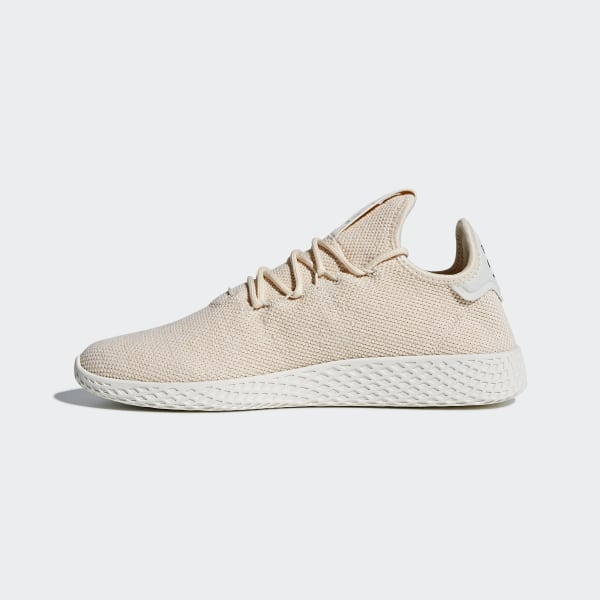 d88a4b251 Pharrell Williams Tennis Hu Shoes Linen   Linen   Chalk White AC8699