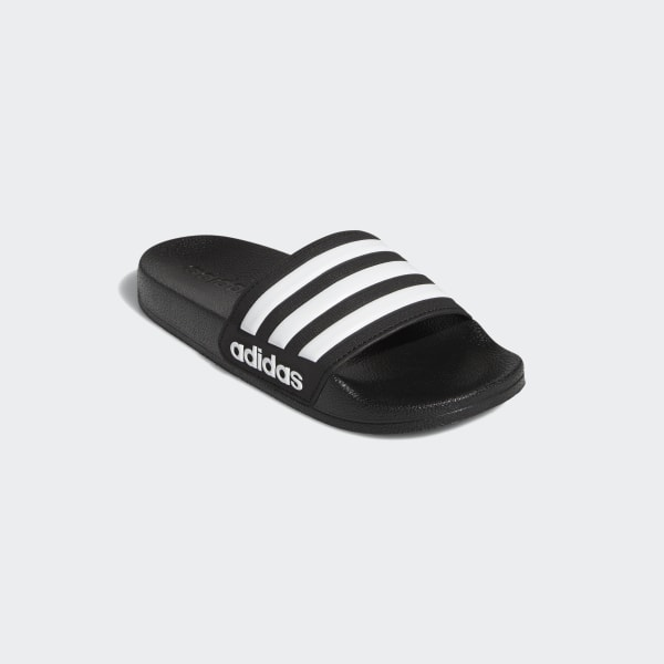 e1d7232f4b57 Adilette Shower Slides Core Black   Cloud White   Core Black G27625