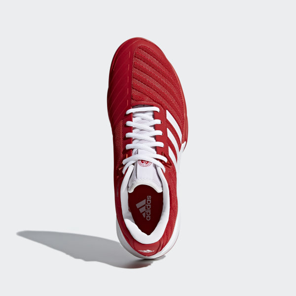 brand new 67732 1c364 Barricade 2018 Clay Shoes ScarletFtwr WhiteScarlet CM7832