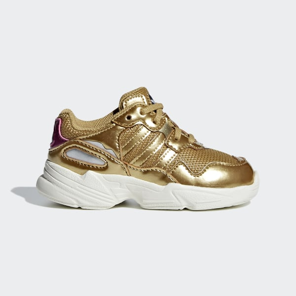 online retailer 9a813 58abb Yung-96 Shoes Gold Met.  Gold Met.  Off White DB3499