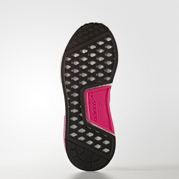 6b08a34d990dc NMD R1 Shoes Core Black   Core Black   Shock Pink BB2364