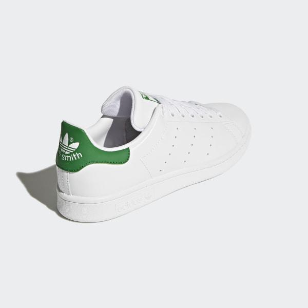 size 40 8e2c9 62de6 Chaussure Stan Smith Footwear White   Core White   Green M20324