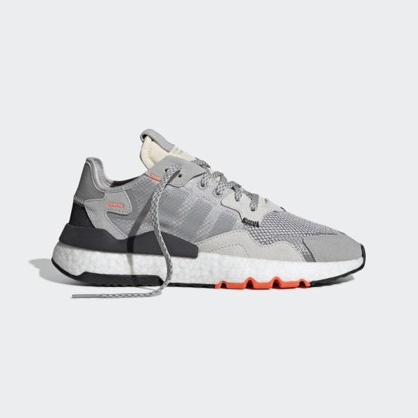 1c05bf244 Nite Jogger Shoes Grey Two   Mgh Solid Grey   Solar Orange DB3361