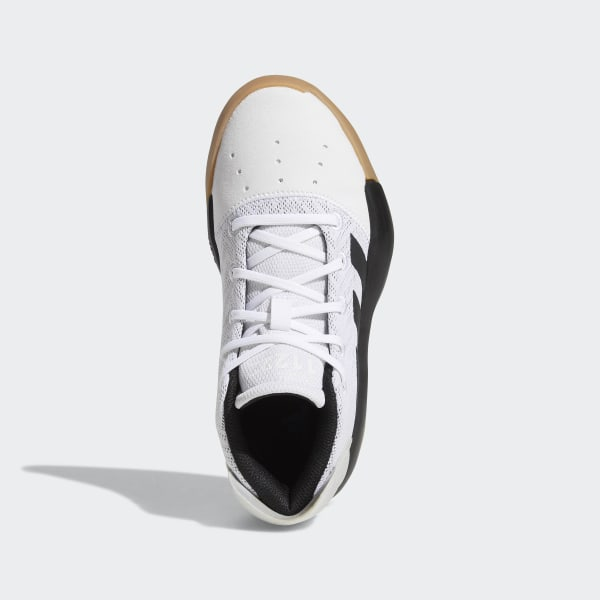 Scarpe da basket Pro Adversary 2019 Ftwr White   Core Black   Grey Four  BB9124 a0a810bd773