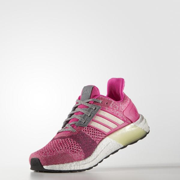 44d598a97 ULTRABOOST ST Shoes Shock Pink   Halo Pink   Mineral Red AF6525