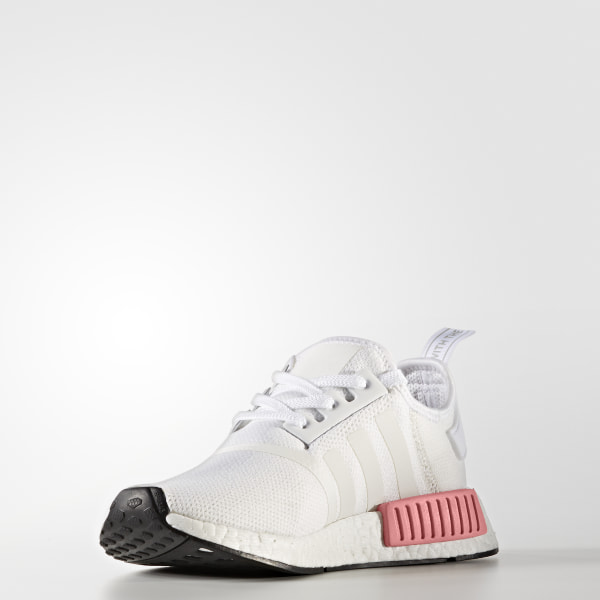 d5bde7cc3a49d NMD R1 Shoes Cloud White   Cloud White   Icey Pink BY9952